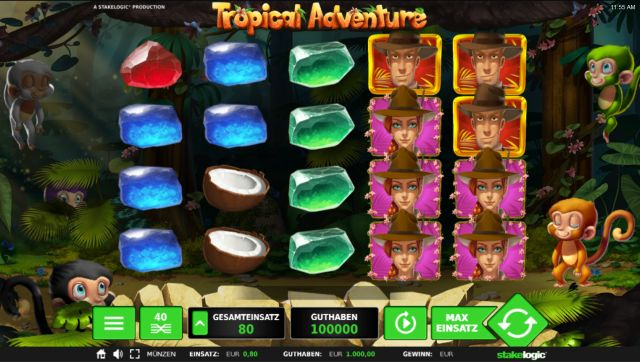 Tropical Adventure Slot Vorschau